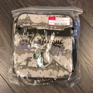 New Thirty-One Lunch Buddy Thermal Dino Parade